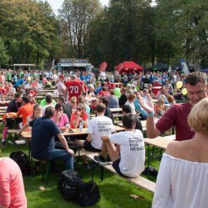 Hoeveel evenementen kan ons park aan?