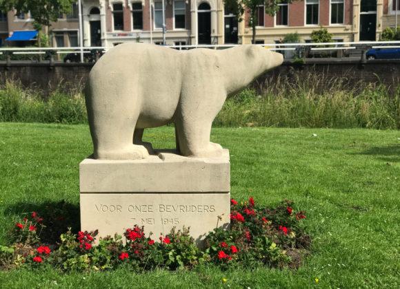 Monument voor de 'Polar Bears'
