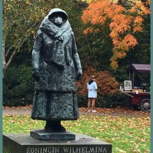 Beeld Wilhelmina inspireert