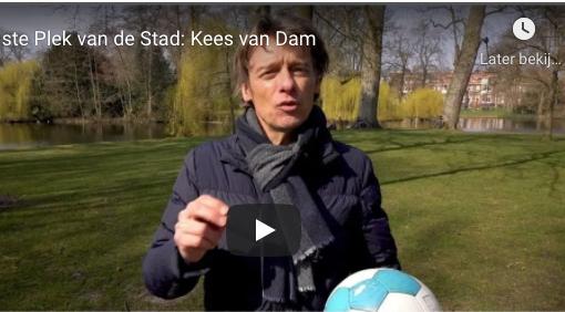 kees van Dam vertelt over de mooiste plek van de stad